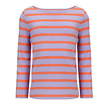 Buy John Lewis Girl Basic Long Sleeve Stripe Top Online at johnlewis.com