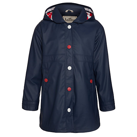 Buy Hatley Splash Rain Jacket, Blue Online at johnlewis.com