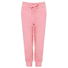 Buy John Lewis Girl Fashion Joggers, Marl Pink Online at johnlewis.com