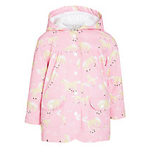 Buy Hatley Girls' Horse Play Raincoat, Pink Online at johnlewis.com