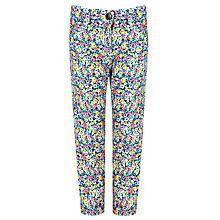 Buy John Lewis Girl Ditsy Trousers, Multi Online at johnlewis.com