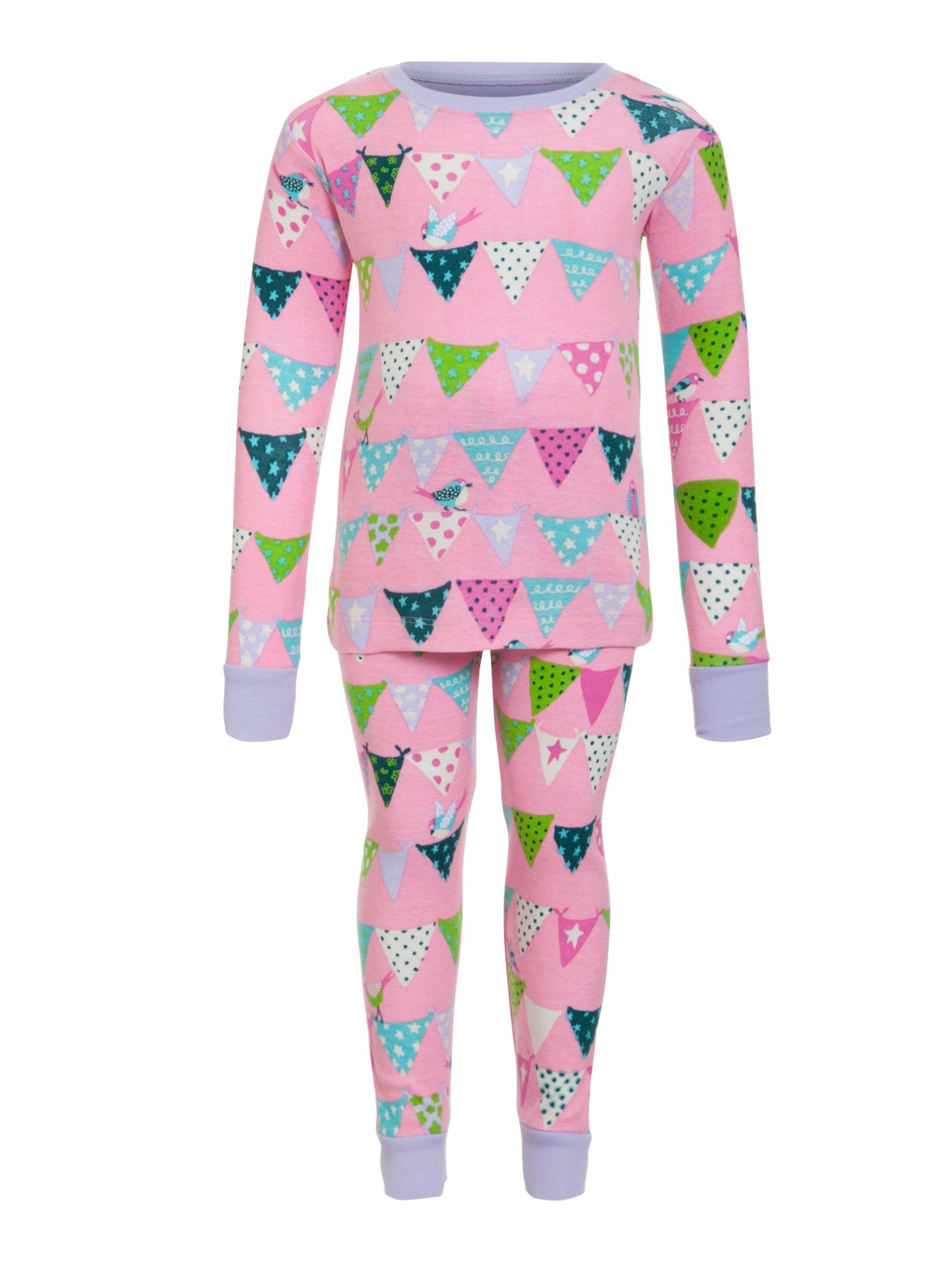 Hatley Girls' Bunting Bird Pyjamas, Pink