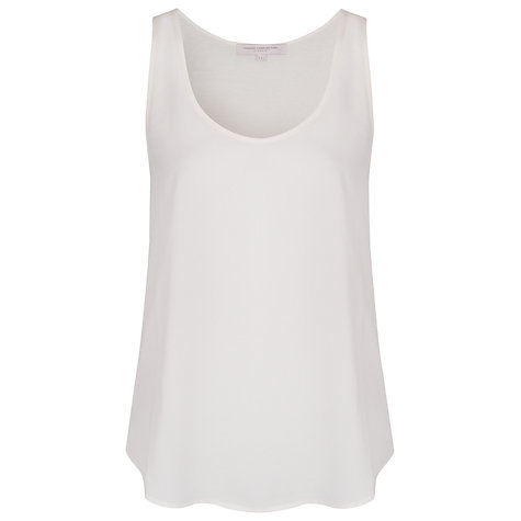 Buy French Connection Classic Winter Plain Tee, Classic Cream Online at johnlewis.com
