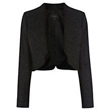 Buy Coast Laurel Sparkle Jacket, Black Online at johnlewis.com