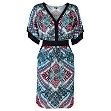 Buy Warehouse Ombre Snake Dress, Multi Online at johnlewis.com