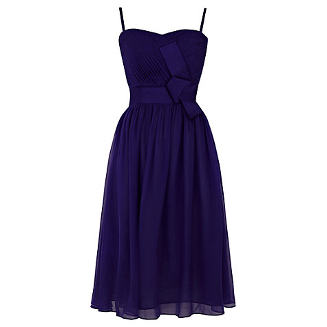 Buy Coast Lyla Short Dress, Purple Online at johnlewis.com