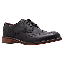 Buy KG by Kurt Geiger Suffolk Leather Brogue Shoes Online at johnlewis.com