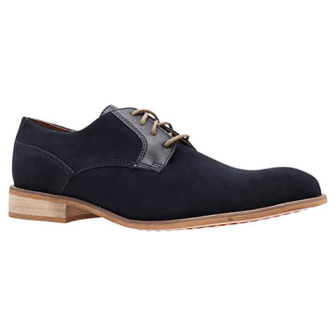 Buy KG by Kurt Geiger Greengrass Suede Derby Shoes Online at johnlewis.com