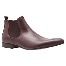 Buy KG by Kurt Geiger Brando Leather Chelsea Boots Online at johnlewis.com