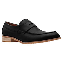 Buy KG by Kurt Geiger Surrey Leather Penny Loafers Online at johnlewis.com