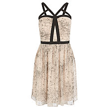 Buy Coast Carmelina Bandeau Dress, Blush Online at johnlewis.com