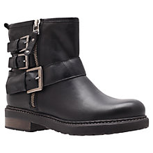 Buy Carvela Sausage Ankle Boots, Black Online at johnlewis.com