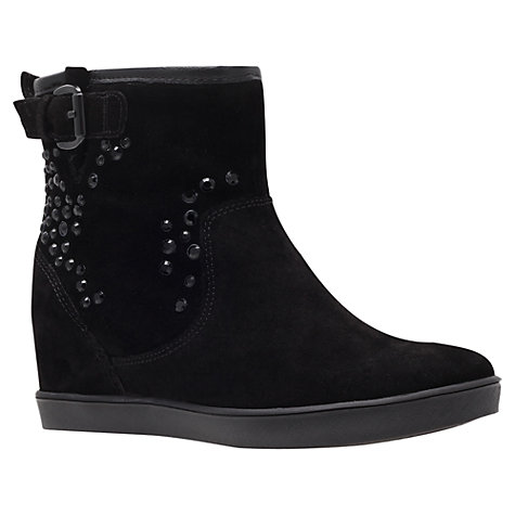 Buy Carvela Sinking Ankle Boots, Black Online at johnlewis.com