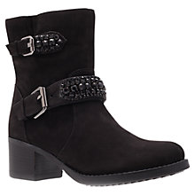Buy Carvela Shape Ankle Boots, Black Online at johnlewis.com