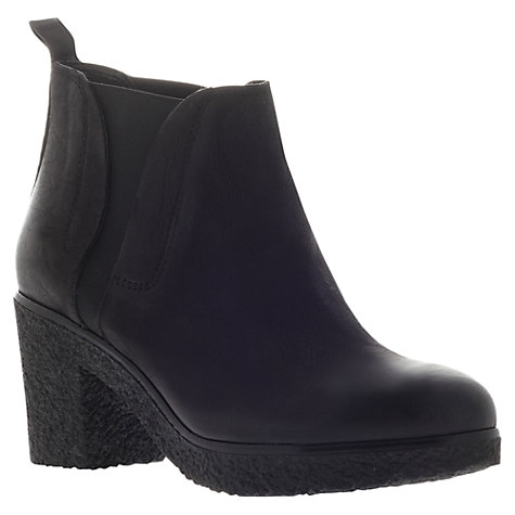 Buy Carvela Stitch Ankle Boot, Black Online at johnlewis.com