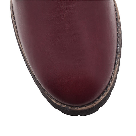 Buy Carvela Simmy Ankle Boots, Wine Online at johnlewis.com