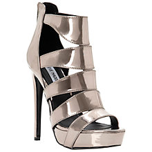 Buy Steve Madden Spycee Platform Sandals, Pewter Online at johnlewis.com
