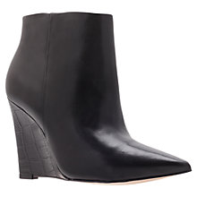 Buy Carvela Share Wedged Ankle Boots, Black Online at johnlewis.com