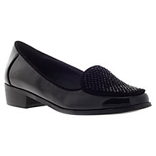 Buy Carvela Lorry Casual Loafer Pumps, Black Online at johnlewis.com
