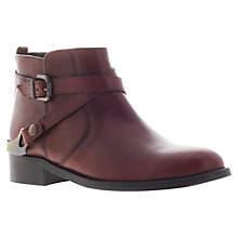 Buy Carvela Scandal Ankle Boots, Rust Online at johnlewis.com