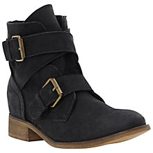 Buy Steve Madden Teritory Ankle Boots, Black Online at johnlewis.com