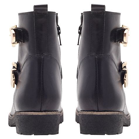 Buy Carvela Simmy Leather Ankle Boots, Black Online at johnlewis.com