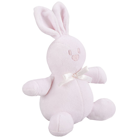 Buy Emile et Rose Christa Bunny Top & Trousers Set with Plush Toy, Pink Online at johnlewis.com