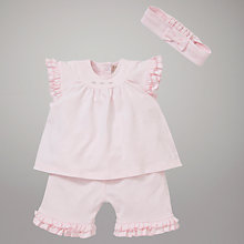 Buy Emile et Rose Cate Jersey Top Shorts & Hairband Set with Plush Toy, Pink Online at johnlewis.com