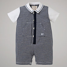 Buy Emile et Rose Cullen Shorty Romper, Navy Online at johnlewis.com