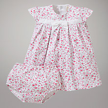 Buy Emile et Rose Cassia Dress & Knickers with Plush Toy, Pink Online at johnlewis.com