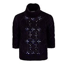Buy Needle & Thread Lattice Rope Knit Jumper Online at johnlewis.com