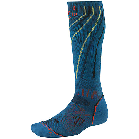 Buy SmartWool PHD Snowboard Light Socks, Artic Blue Online at johnlewis.com