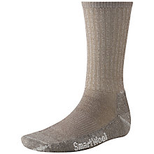 Buy SmartWool Hike Light Crew Socks, Taupe Online at johnlewis.com