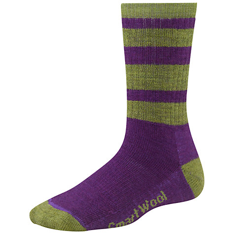 Buy SmartWool Striped Hike Light Crew Socks Online at johnlewis.com