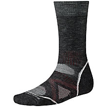 Buy SmartWool PHD Outdoor Medium Crew Socks, Charcoal Online at johnlewis.com