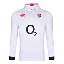 Buy Canterbury of New Zealand Classic England Rugby Long Sleeve Shirt, White Online at johnlewis.com