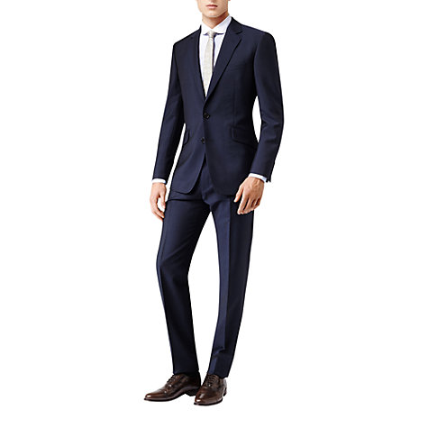 Buy Reiss Bishopsgate Mohair Wool Suit, Bright Blue Online at johnlewis.com