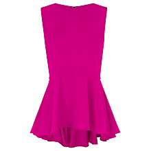 Buy Coast Branda Top, Fuchsia Online at johnlewis.com