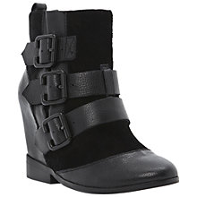 Buy Bertie Python Hidden Wedge Ankle Boots Online at johnlewis.com