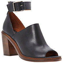 Buy Bertie Azaelia Ankle Strap Sandals, Black Online at johnlewis.com