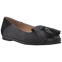 Buy Bertie Liza Tassel Loafers, Black Online at johnlewis.com
