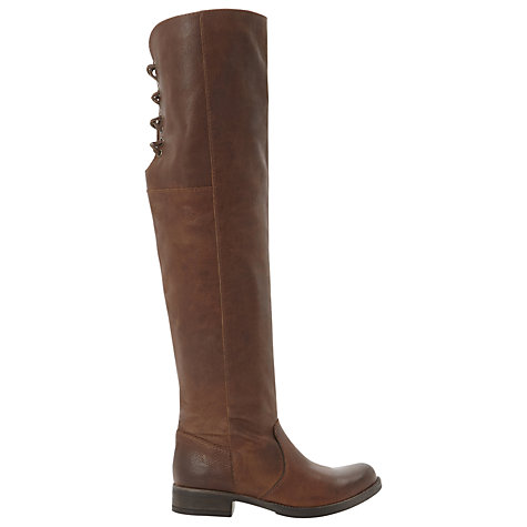 Buy Bertie Talos Laced Detail Knee Boots Online at johnlewis.com