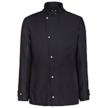 Buy Reiss Benson Technical Twill Funnel Neck Jacket Online at johnlewis.com