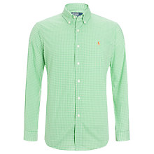 Buy Polo Ralph Lauren Custom Fit Gingham Shirt Online at johnlewis.com