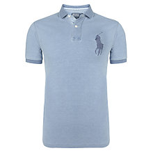 Buy Polo Ralph Lauren Custom Fit Washed Polo Shirt Online at johnlewis.com