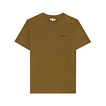 Buy Reiss Felix Salt and Pepper T-Shirt Online at johnlewis.com