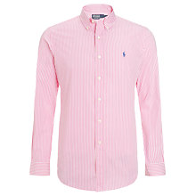Buy Polo Ralph Lauren Pinstripe Long Sleeve Shirt Online at johnlewis.com