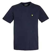 Buy Lyle & Scott Crew Neck Cotton T-Shirt, New Navy Online at johnlewis.com