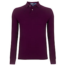 Buy Polo Ralph Lauren Long Sleeve Slim Fit Polo Shirt Online at johnlewis.com