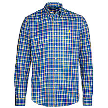 Buy Polo Ralph Lauren Slim Fit Check Shirt, Blue/Green Online at johnlewis.com
